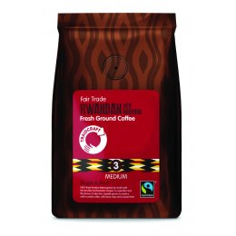 Traidcraft Rwandan Red Bourbon Fresh Ground Coffee - 227g