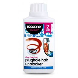 Ecozone Plughole Hair Unblocker - 250ml