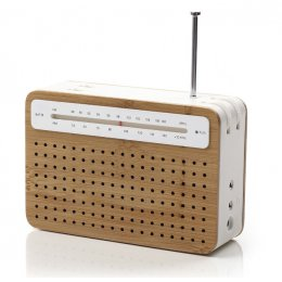 Lexon Bamboo Safe Radio