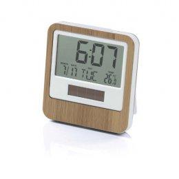 Lexon Bamboo Safe Travel Clock