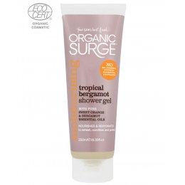 Organic Surge Shower Gel - Tropical Bergamot - 250ml