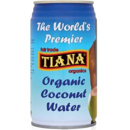 Tiana Organic Coconut Water - 350ml