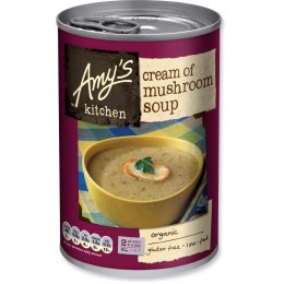 Amys Kitchen Cream of Mushroom Soup - 400g