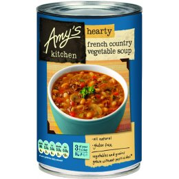Amys Kitchen Hearty French Country Vegetable Soup - 408g