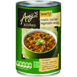 Amys Kitchen Hearty Rustic Italian Vegetable Soup - 397g