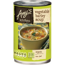 Amys Kitchen Vegetable Barley Soup - 400g