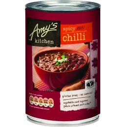 Amys Kitchen Spicy Chilli - 416g
