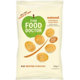 The Food Doctor Multigrain Chip Thins - 23g