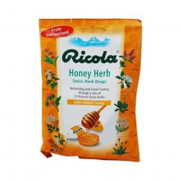 Ricola Swiss Herbal Drops Bag - Honey Herb - 70g