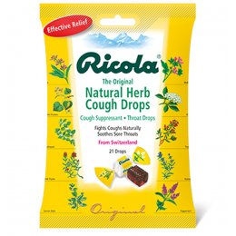 Ricola Swiss Herbal Drops Bag - Original Herb - 70g