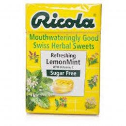Ricola Swiss Herbal Drops Box - LemonMint - 45g