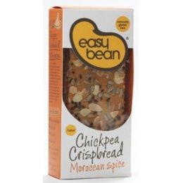 Easy Bean Chickpea Crispbread - Moroccan Spice - 110g