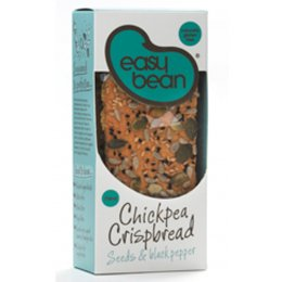 Easy Bean Chickpea Crispbread - Seeds & Black Pepper - 110g