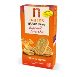 Nairns Biscuit Breaks - Oat & Syrup - 160g