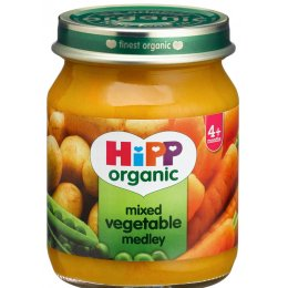 HiPP Organic Mixed Vegetable Medley - 4m+ - 125g