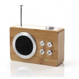 Lexon Bamboo Mini Dolmen Radio