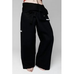 Marzipants Full Length Trousers - Black - Extra Long