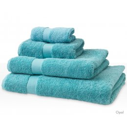 Natural Collection Organic Cotton Hand Towel - Opal