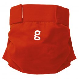 gNappies Good Fortune Red Nappy Cover