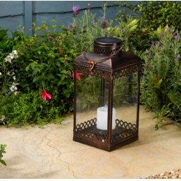 Solar Powered Tangier Lantern
