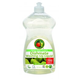 Earth Friendly Dishmate Washing up Liquid - Pear - 750ml