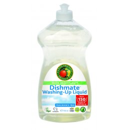 Earth Friendly Dishmate Washing up Liquid - Fragrance Free - 750ml