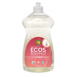ECOS Dishmate Washing up Liquid - Grapefruit - 750ml