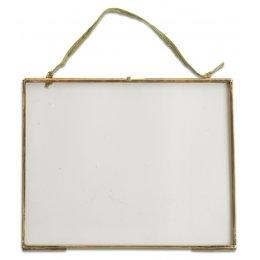 Kiko Glass Brass Frame - 5x7