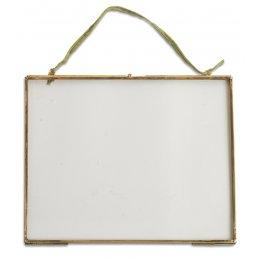 Kiko Glass Brass Frame - 8x10