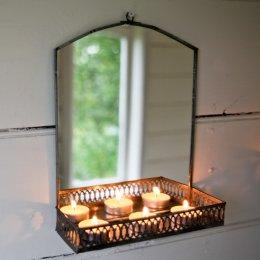Oni Mirror with Shelf - Zinc test