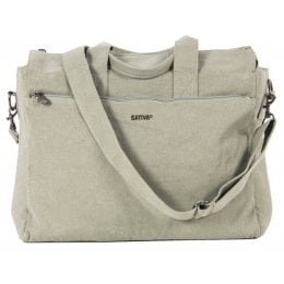 Hemp Laptop Bag - Ice