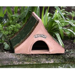 Ceramic Frog & Toad Home