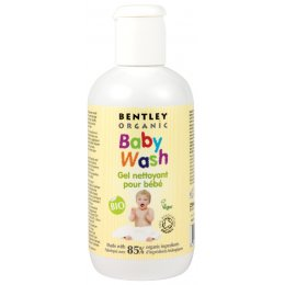 Bentley Organic Baby Wash with Aloe Vera, Chamomile & Lavender - 250ml