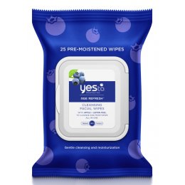 Yes To Blueberries - Age Refresh Cleansing Face Wipes - 25 pack