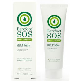Barefoot Botanicals S.O.S Rescue - Face and Body Cream - 25ml