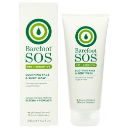 Barefoot Botanicals S.O.S Soothing Face and Body Wash - 200ml