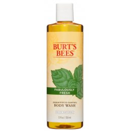 Burts Bees Peppermint & Rosemary Body Wash - 350ml