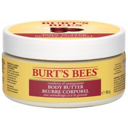 Burts Bees Spa Body Butter - Cranberry & Pomegranate - 185g
