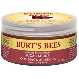 Burts Bees Spa Sugar Scrub - Cranberry & Pomegranate - 225g