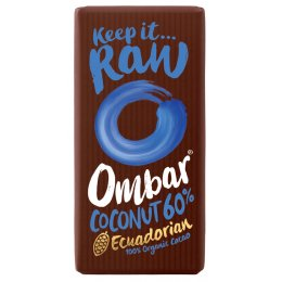 Ombar Raw Chocolate - Coconut 60 percent  - 35g