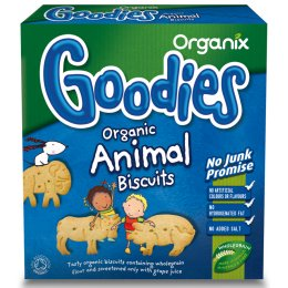 Organix Animal Biscuits - 100g