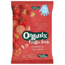 Organix Strawberry Rice Cakes - 50g