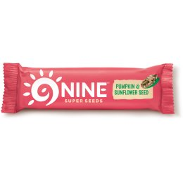 9Nine Pumpkin & Sunflower Seed Snack Bar- 40g