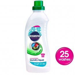 Ecozone Bio Concentrated Laundry Liquid - 1L - 25 washes