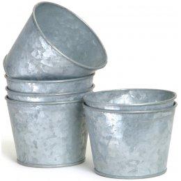Galvanised Pots