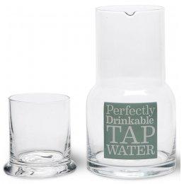Tap Water Carafe & Glass