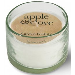 Recycled Glass Candle - Apple & Clove