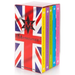 Montezumas Great British Pudding Chocolate Bar Library - 500g