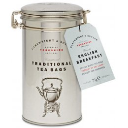 Cartwright & Butler English Breakfast Tea Bags in Caddy - 75g