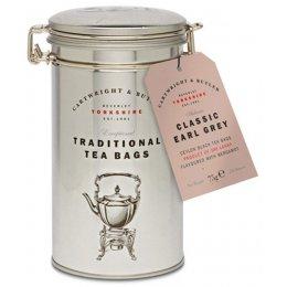 Cartwright & Butler Earl Grey Tea Bags in Caddy - 75g